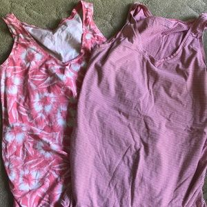 Fitted Maternity Tanks - L